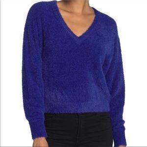 Splendid fuzzy sweater